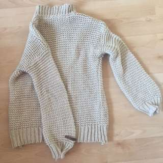 Over Size Knit Jumper