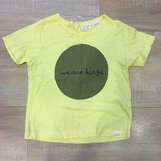 Zara男童短袖T-shirt