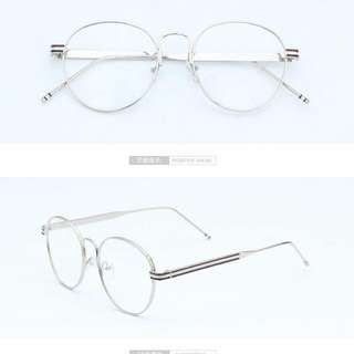 Korean Retro Round Glasses And 2 Free Pairs