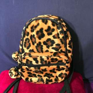 Leopard Skin Backpack