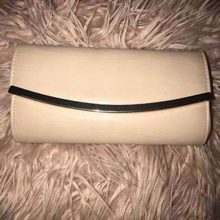 Colette Leather Clutch