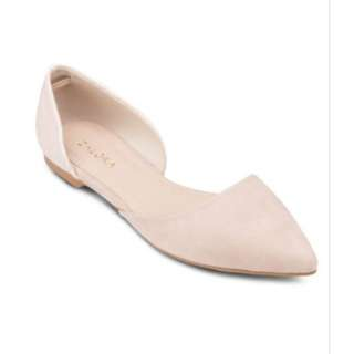 ZALORA Pointed D'orsay Ballerinas - Pink