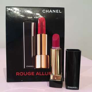 Chanel Rouge Allure Lipstick 99 Pirate Travel Size