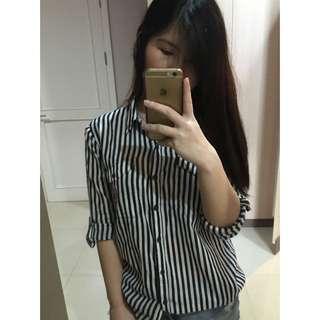 Forever 21 stripes blouse