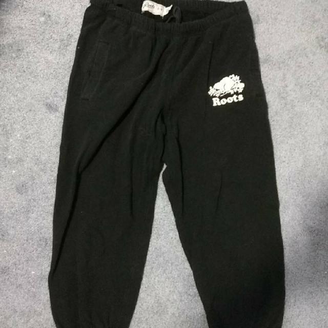 Black Roots Pants