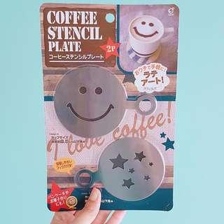 【日本帶回】咖啡灑粉 拉花模具 可可粉 肉桂粉 輕鬆DIY