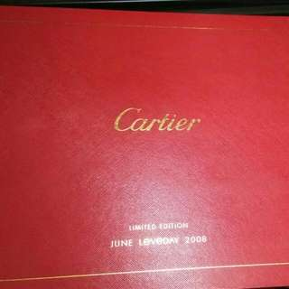 CARTIER Limited Edition JUNE Loveday 2008 stamp