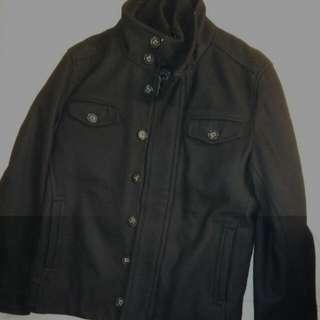 Le Chateau Black Winter Coat (Small/Medium Fit)