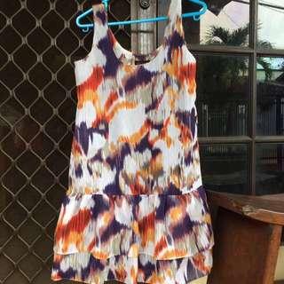 Ruffle Hippie Dress