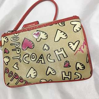 Original Coach Wristlet Poppy Edition