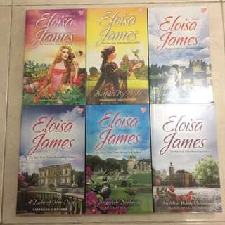 Paket Novel Eloisa James (Seri Desperate Duchess)