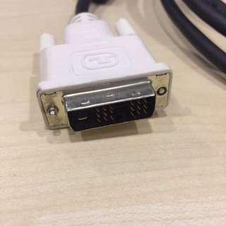 DVI Cable Cables 2M