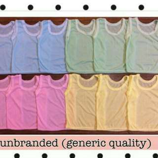 Infant Colored Sleeveless / Sando