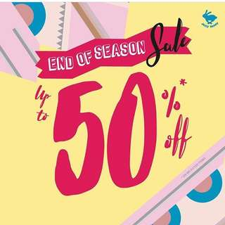Up To 50% On Selected Item