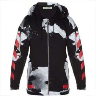 Off White Spot Hoodie