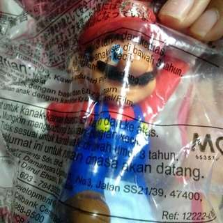 McDonalds Super Mario collectibles 2016
