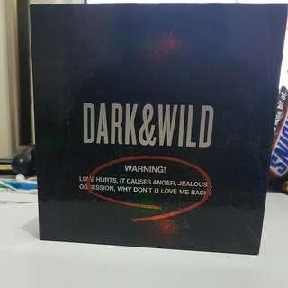 Dark & Wild Album BTS