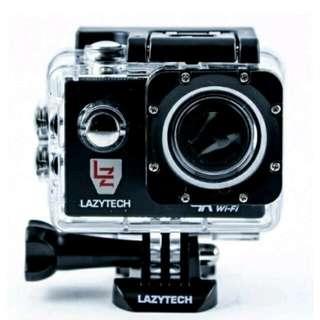 Lazytech 4K WiFi Action Pro 16MP Sports Camera (Black)