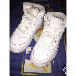 White Nike airforce