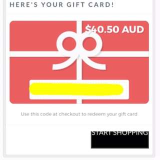 Meshki Boutique Gift Voucher