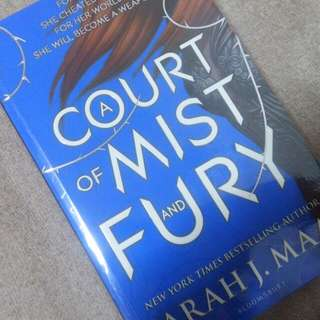 A Court Of Mist And Fury UK PB