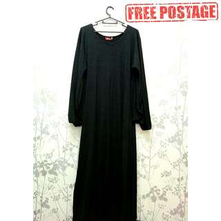 Long Jubah Cotton (S)