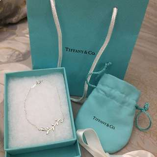 Brand New TIFFANY & CO Silver 925 Paloma Picasso Olive Leaf Bracelet