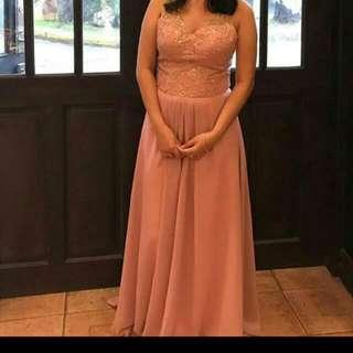 Rosegold Elegant Gown