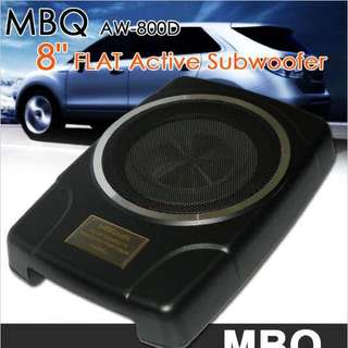 MBQaudio Active Subwoofer AW-800D Car