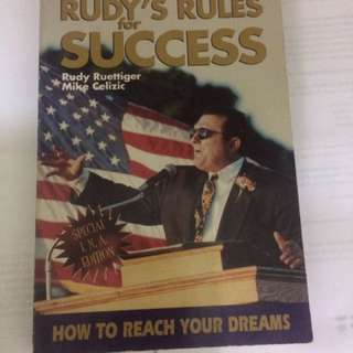 Rudy's Rules Of Success