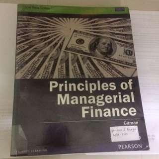 Principles Of Managerial Finance (Gitman)