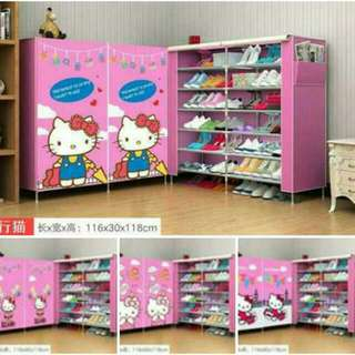 Hello Kitty Shoe Rack
