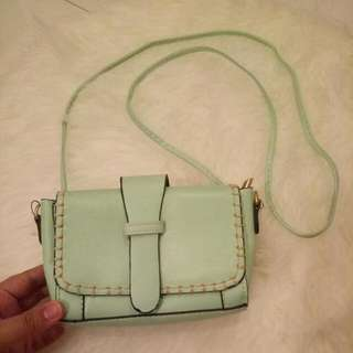 Tourquise Sling Bag - Mint Color