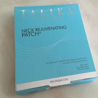 TALIKA NECK REJUVENATING PATCH