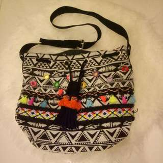 Tribal Boho Bag - Drawstring