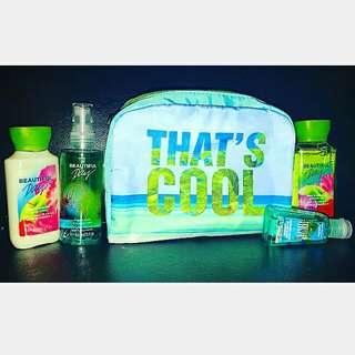 CooL Bag with Travel Set (Bath & Body Works)