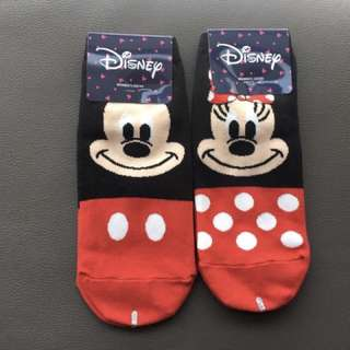 Mickey Mouse Minnie Mouse Socks