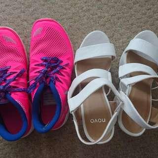 Nikes & Novo Wedges