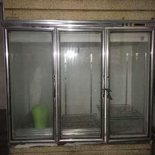 Ruey Shing EW-512 (3 Door) Showcase Freezer