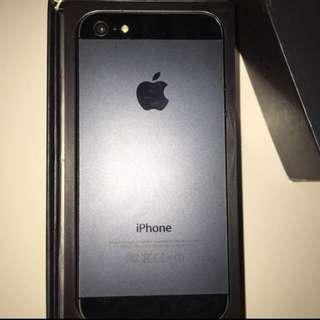 iPhone 5 32GB Black Original JUAL BU!