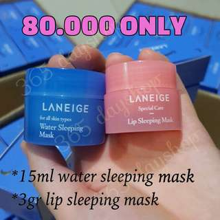Laneige Sleeping Care Kit TERMURAH!!!