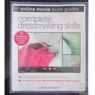 dress making book