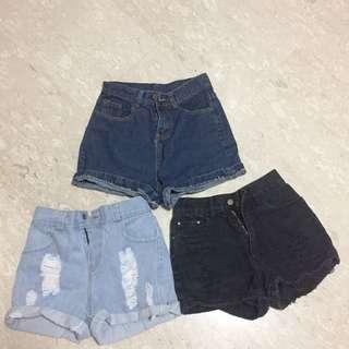 High Waist Shorts Sale