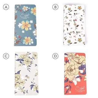 Flower Style Plain Notes