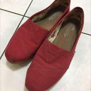 二手toms鞋