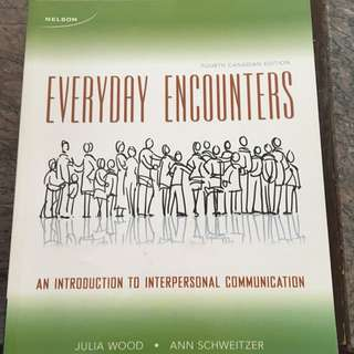 Intro To Interpersonal Communications