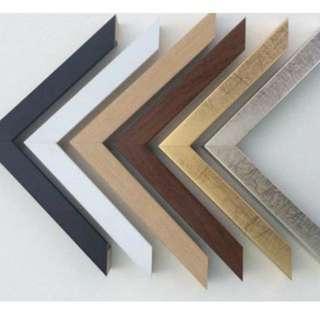 金屬 木紋 創意相架相框訂做 結婚BB旅遊畢業油畫相架相框訂造訂製訂做 可批發