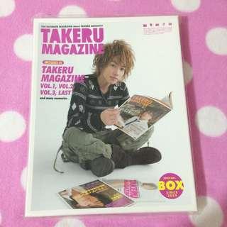 佐藤健 TAKERU MAGAZINE BOX 雜誌盒