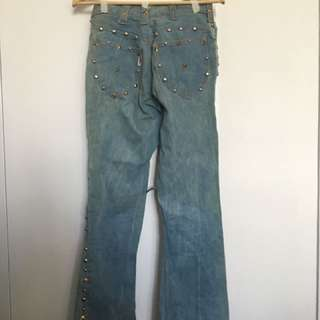 GEDDY LEE'S PANTS CIRCA LATE 70's