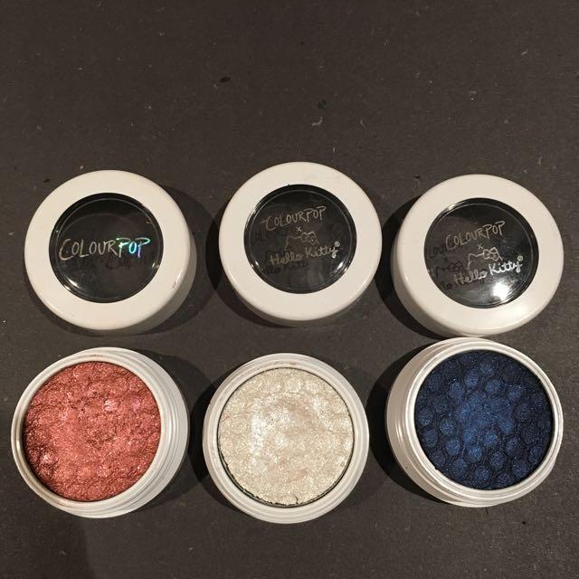 3 Colourpop Eyeshadow